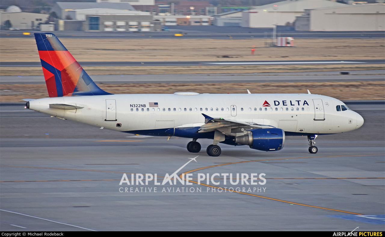 Delta Air Lines N364NB aircraft at Salt Lake City