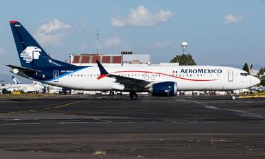 XA-MAQ - Aeromexico Boeing 737-8 MAX