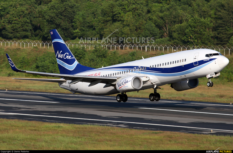 Newgen Airways HS-NGG aircraft at Phuket