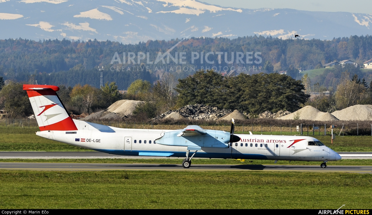 Austrian Airlines/Arrows/Tyrolean OE-LGE aircraft at Graz