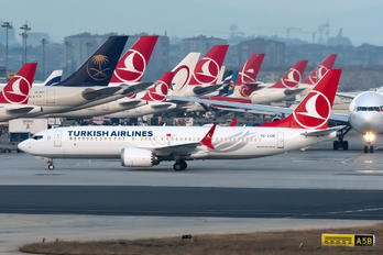 TC-LCD - Turkish Airlines Boeing 737-8 MAX