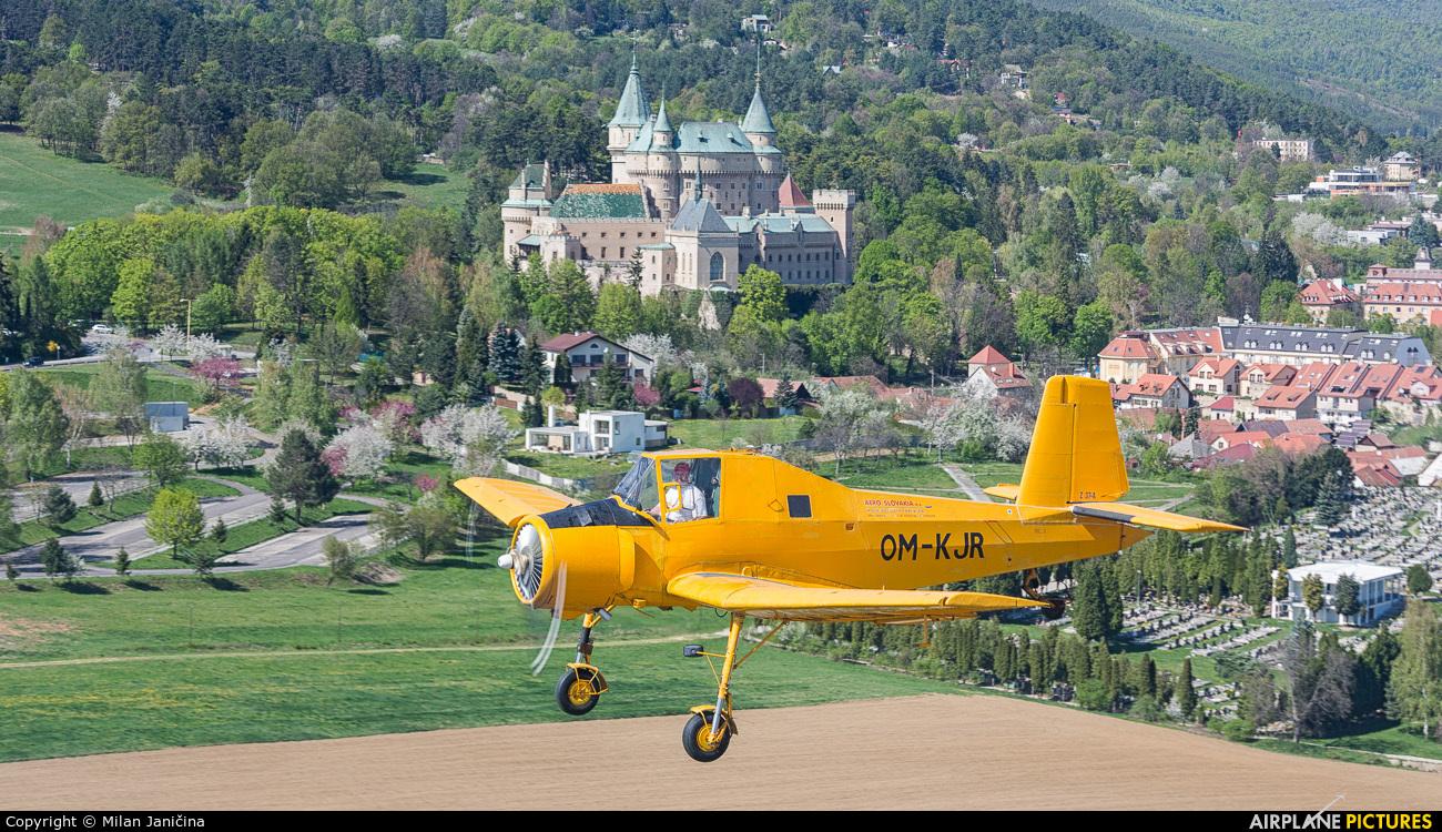 Aero Slovakia OM-KJR aircraft at In Flight - Slovakia
