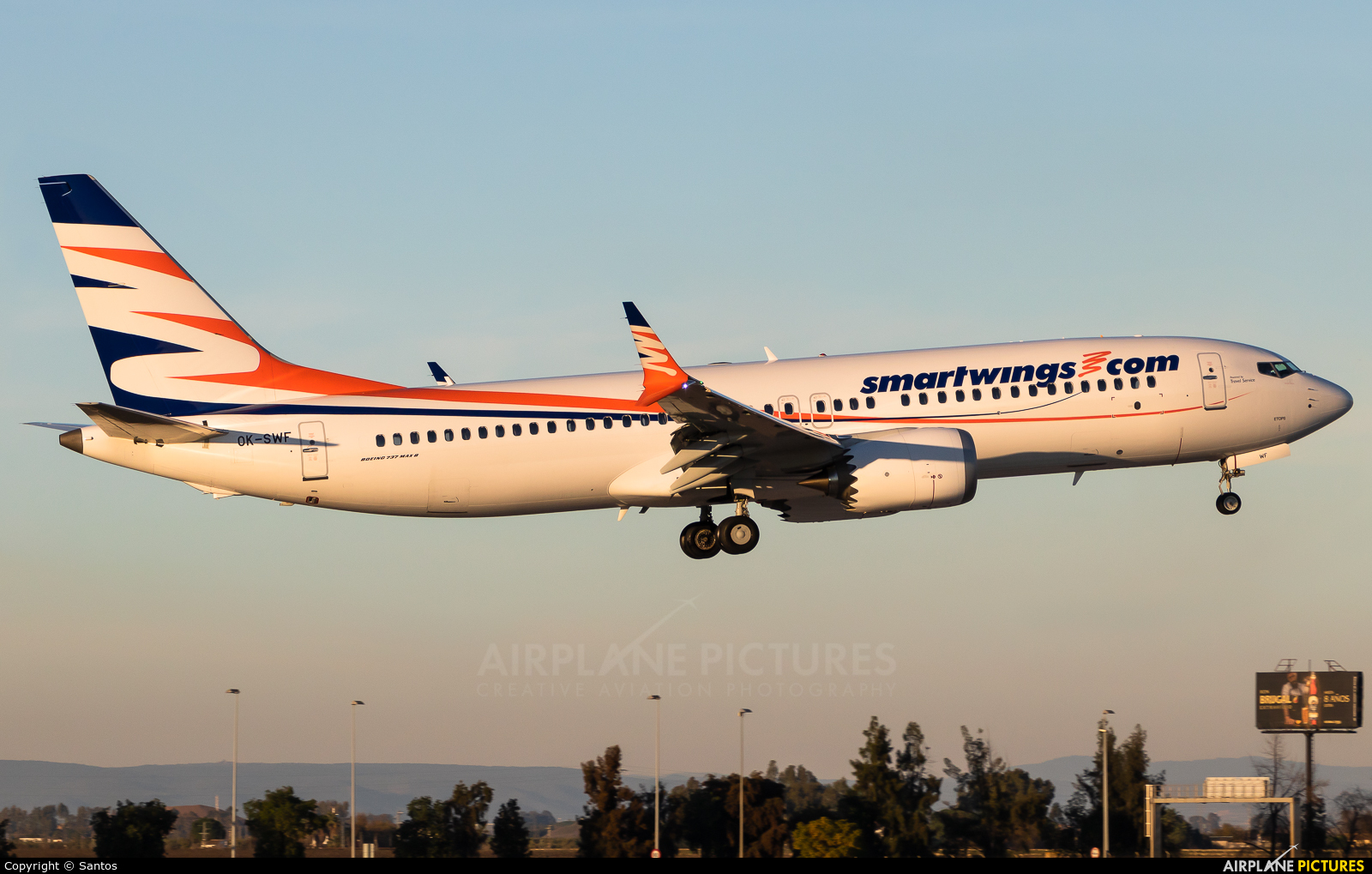 SmartWings OK-SWF aircraft at Seville - San Pablo