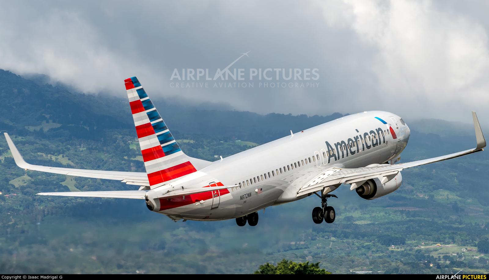 American Airlines N872NN aircraft at San Jose - Juan Santamaría Intl