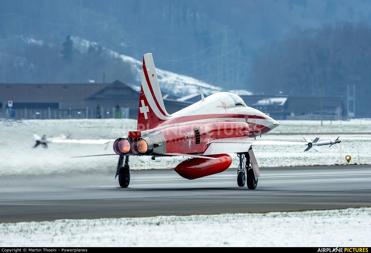 Switzerland - Air Force J-3089 aircraft at Meiringen