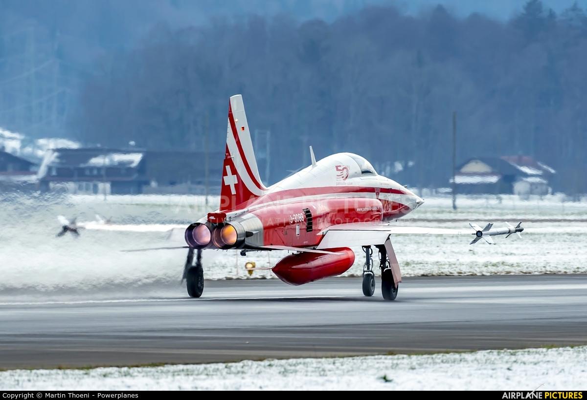 Switzerland - Air Force J-3088 aircraft at Meiringen
