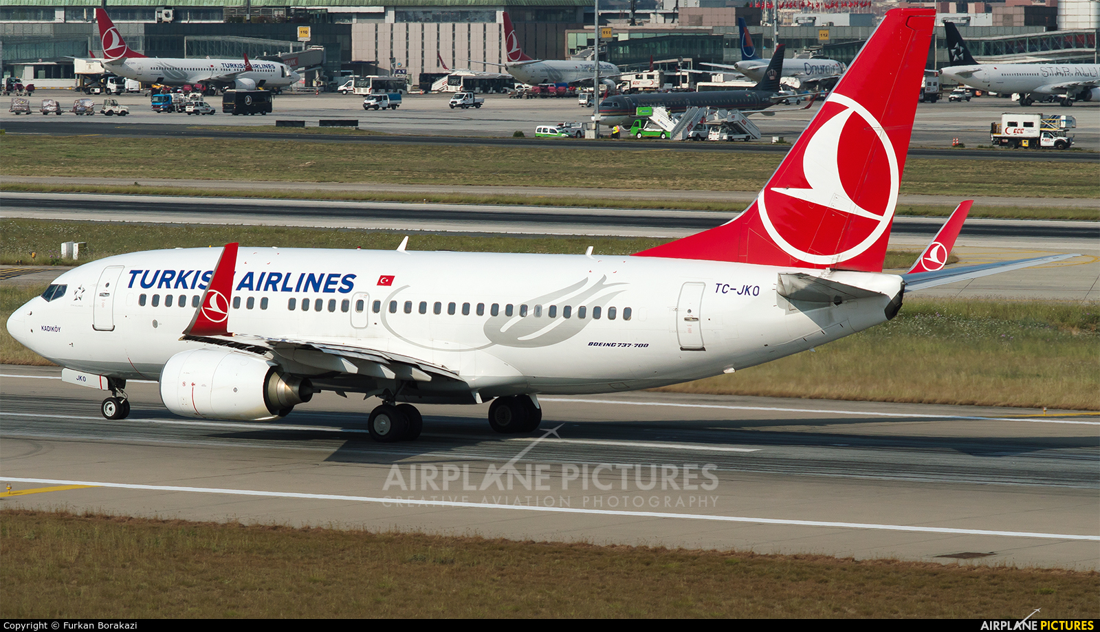 Turkish Airlines TC-JKO aircraft at Istanbul - Ataturk