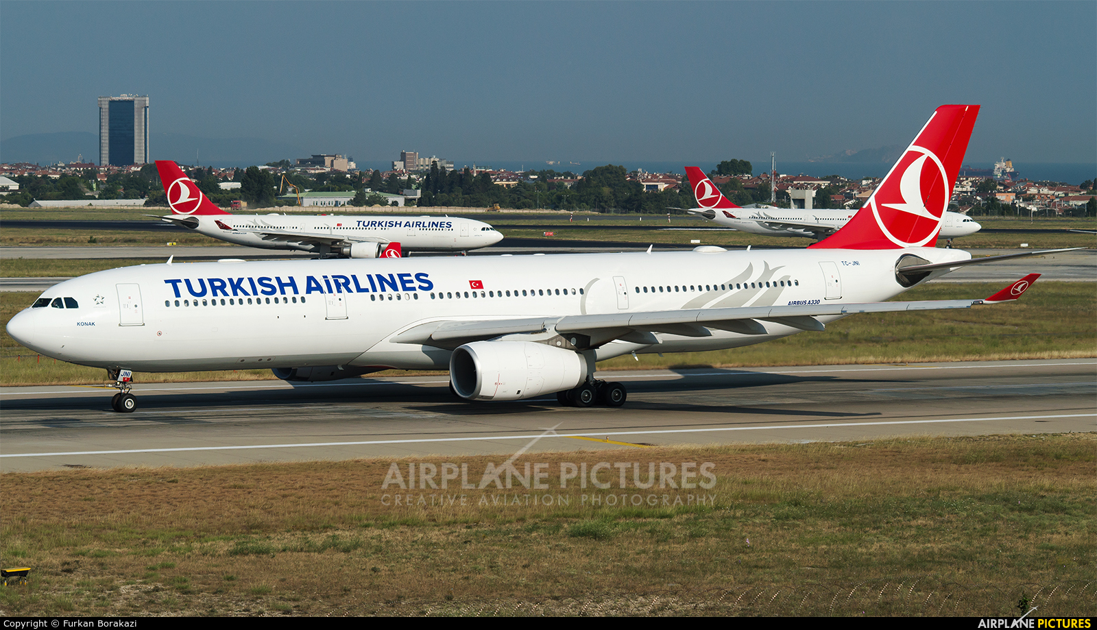 Turkish Airlines TC-JNI aircraft at Istanbul - Ataturk