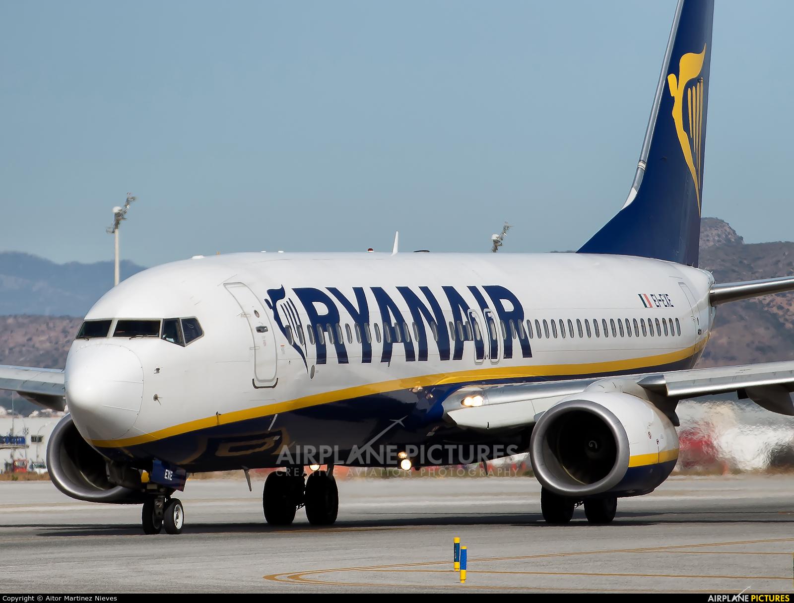 Ryanair EI-EXE aircraft at Málaga