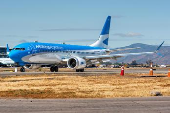 LV-GVE - Aerolineas Argentinas Boeing 737-8 MAX