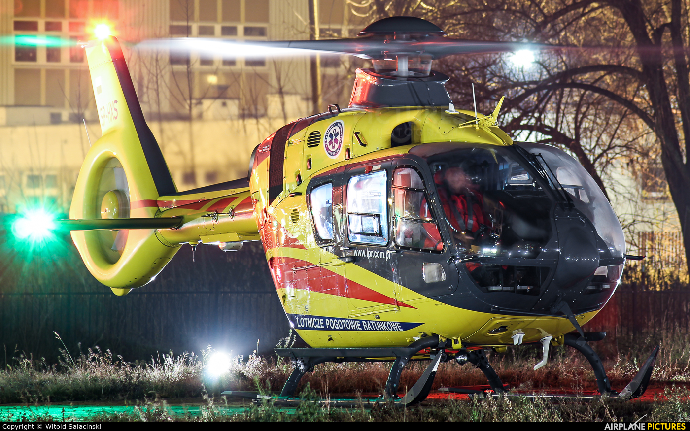 Polish Medical Air Rescue - Lotnicze Pogotowie Ratunkowe SP-HXS aircraft at Warsaw - Off Airport