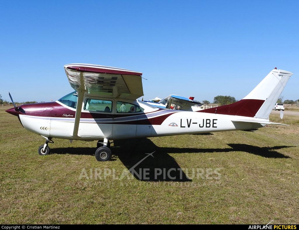Private LV-JBE aircraft at Santa Fe - Villa Ocampo