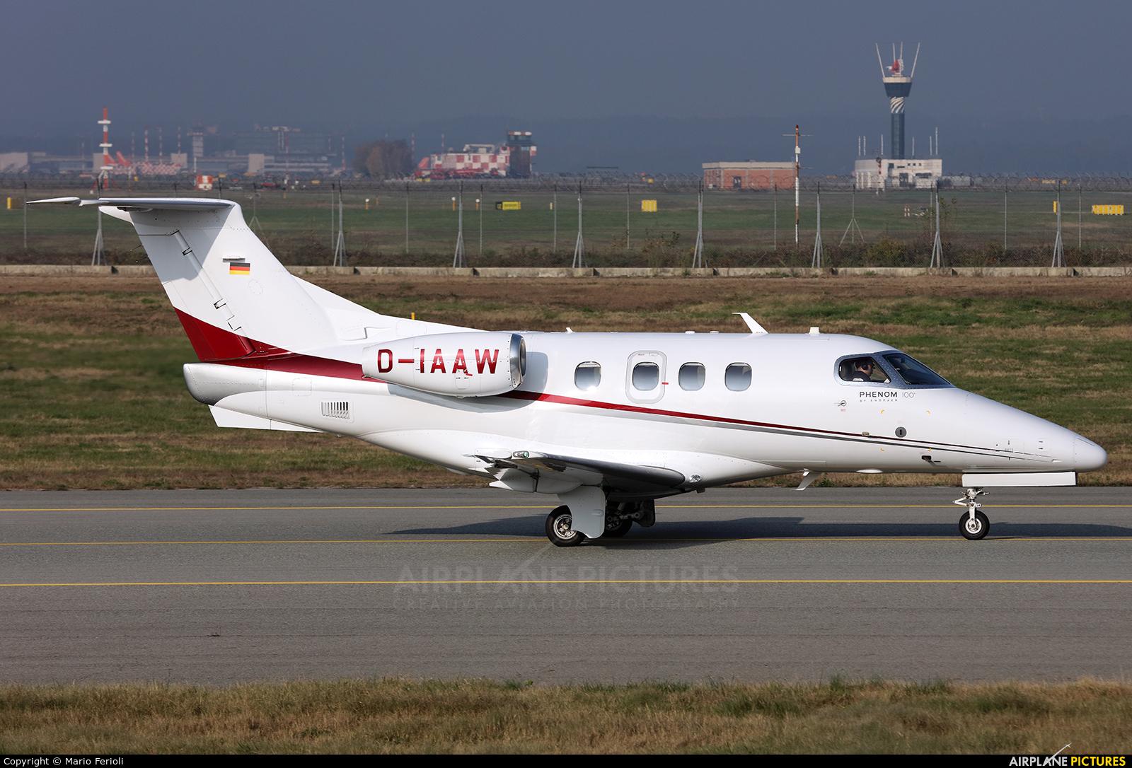 Private D-IAAW aircraft at Milan - Malpensa