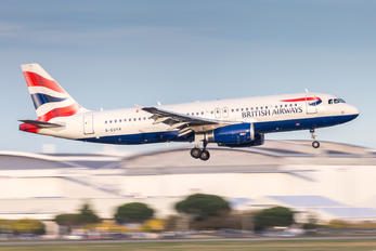 G-EUYH - British Airways Airbus A320