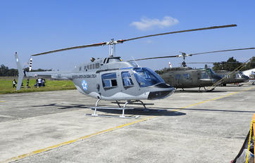 117 - Guatemala - Air Force Bell 206B Jetranger III