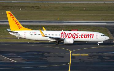 TC-CCK - Pegasus Boeing 737-800