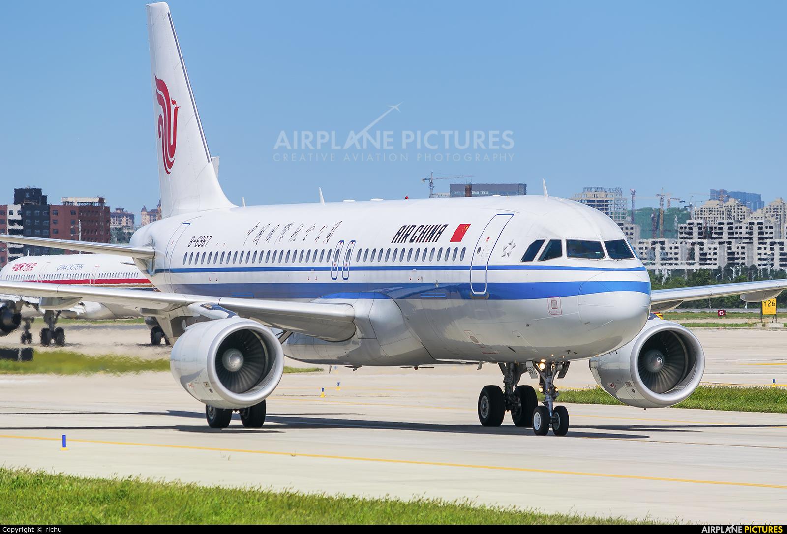 Air China B-6967 aircraft at Shenyang-Taoxian