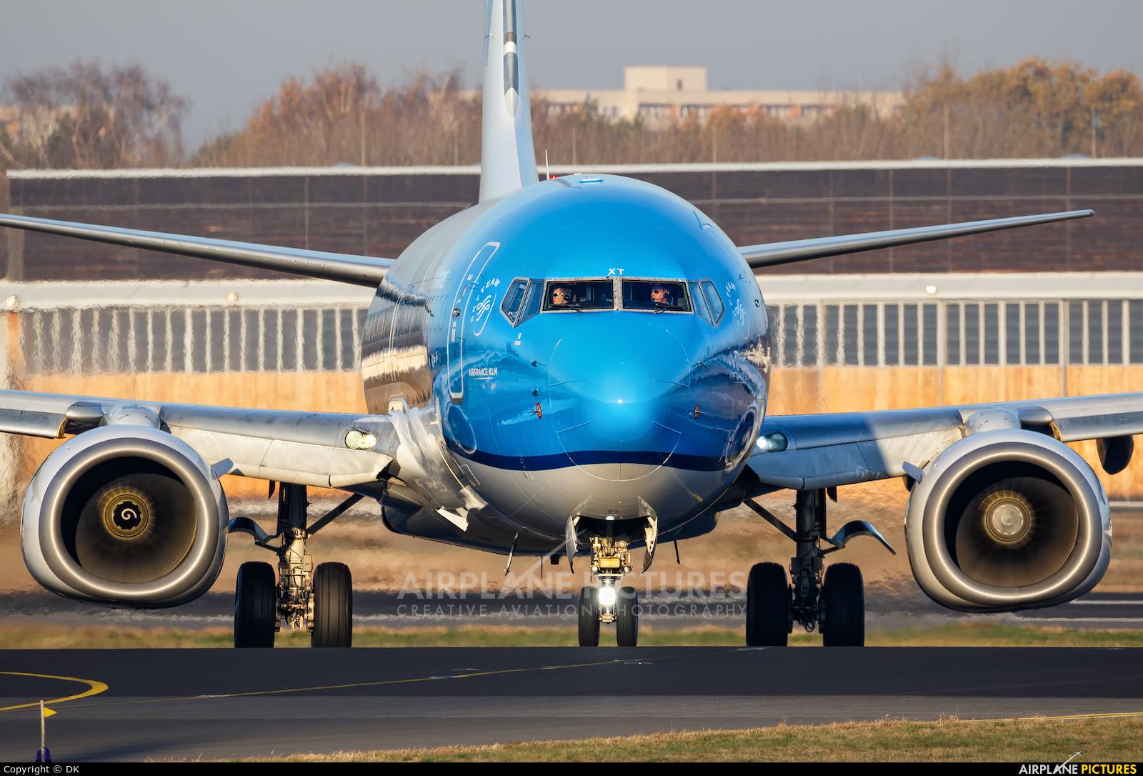 KLM PH-BXT aircraft at Berlin - Tegel
