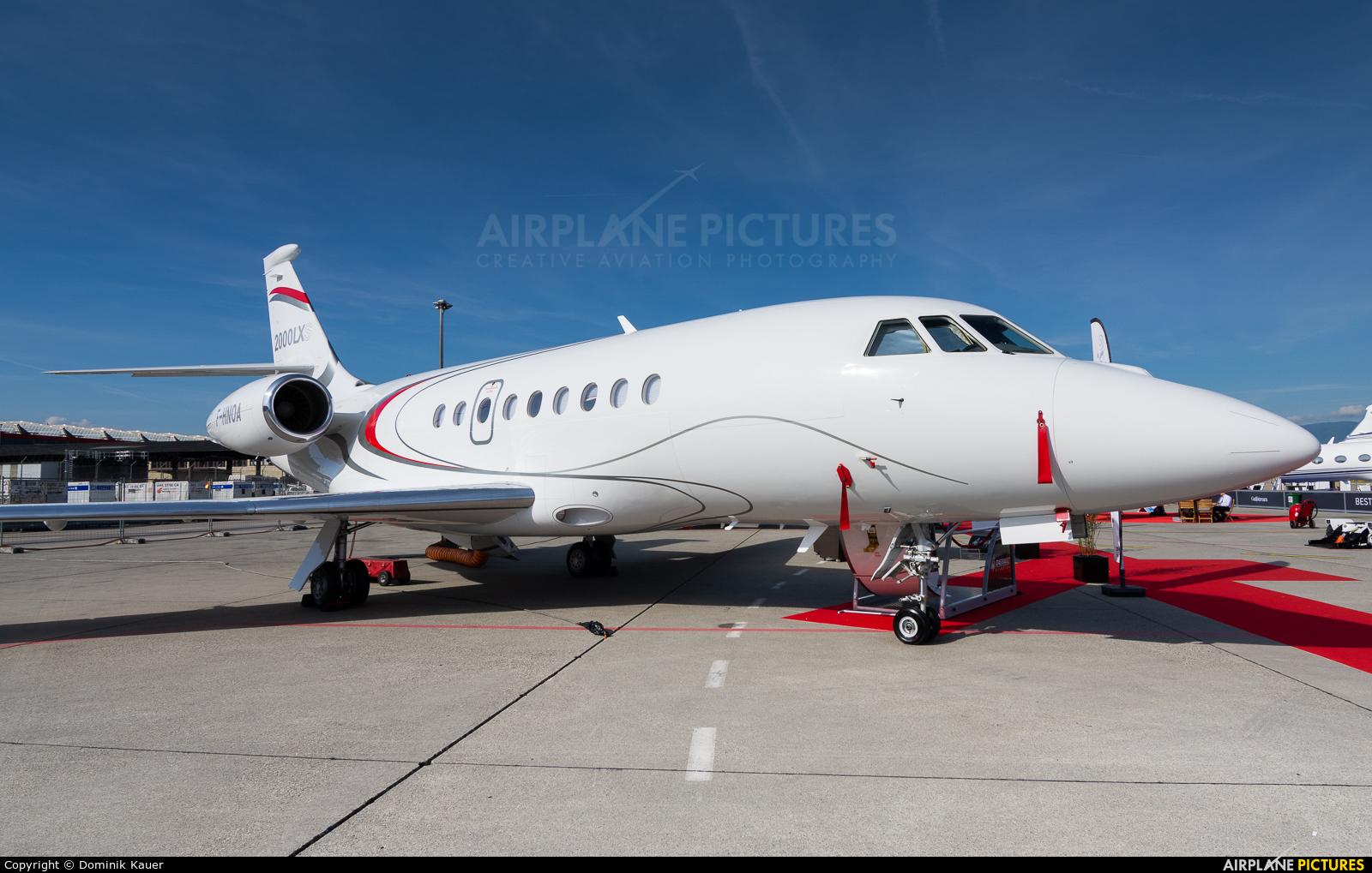 Abelag Aviation F-HNOA aircraft at Geneva Intl