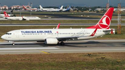 TC-JVI - Turkish Airlines Boeing 737-800