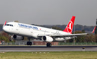 TC-JSZ - Turkish Airlines Airbus A321 aircraft