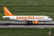G-EZBD - easyJet Airbus A319 aircraft
