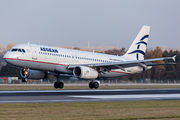 SX-DVN - Aegean Airlines Airbus A320 aircraft