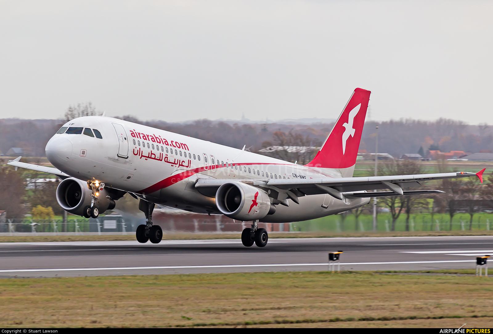 Air Arabia Maroc CN-NMF aircraft at Brussels - Zaventem