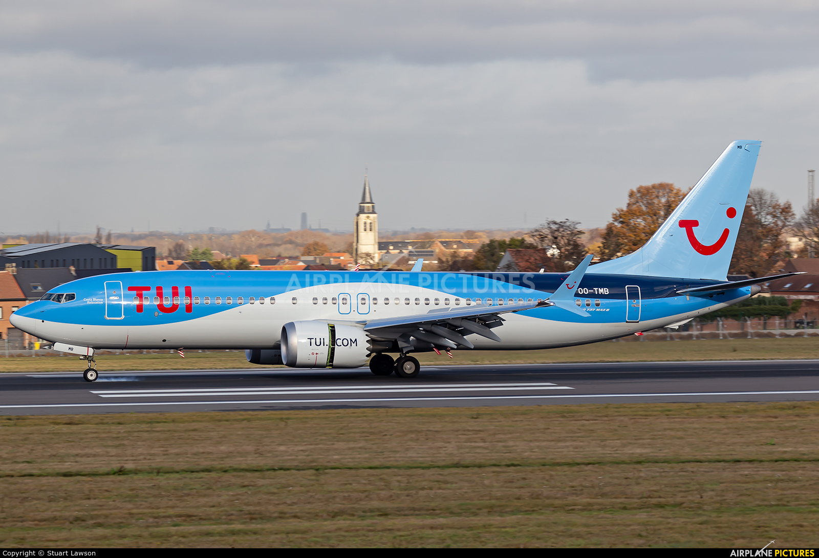 TUI Airlines Belgium OO-TMB aircraft at Brussels - Zaventem