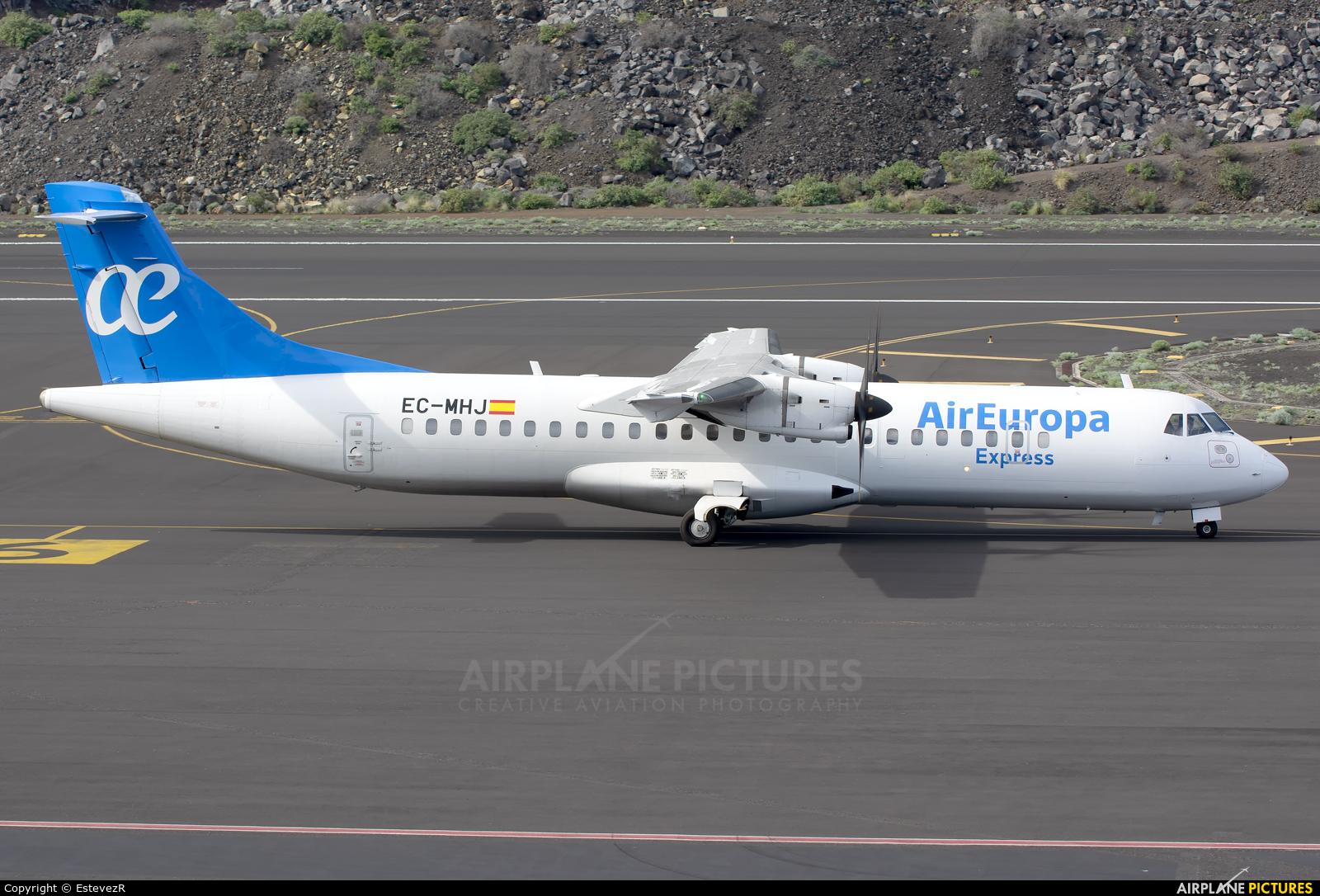 Air Europa Express EC-MHJ aircraft at Santa Cruz de La Palma