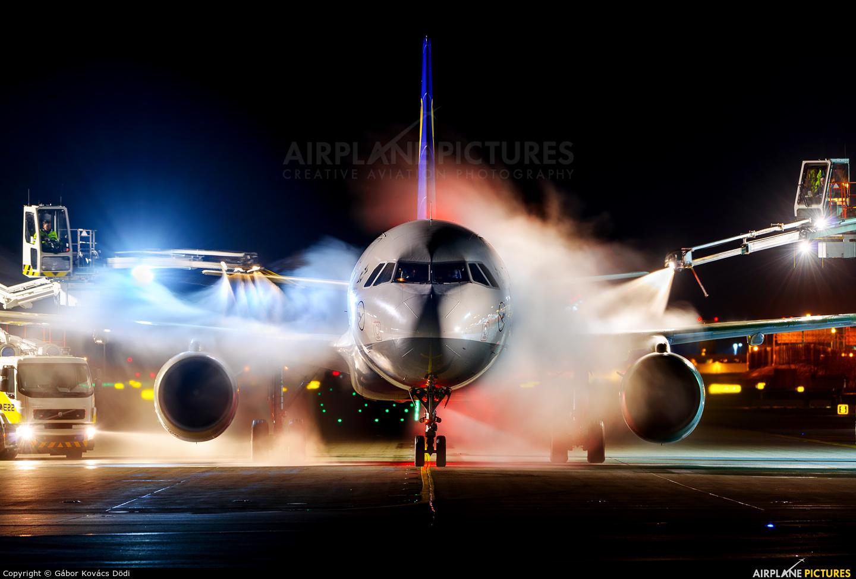 Lufthansa D-AIDX aircraft at Munich