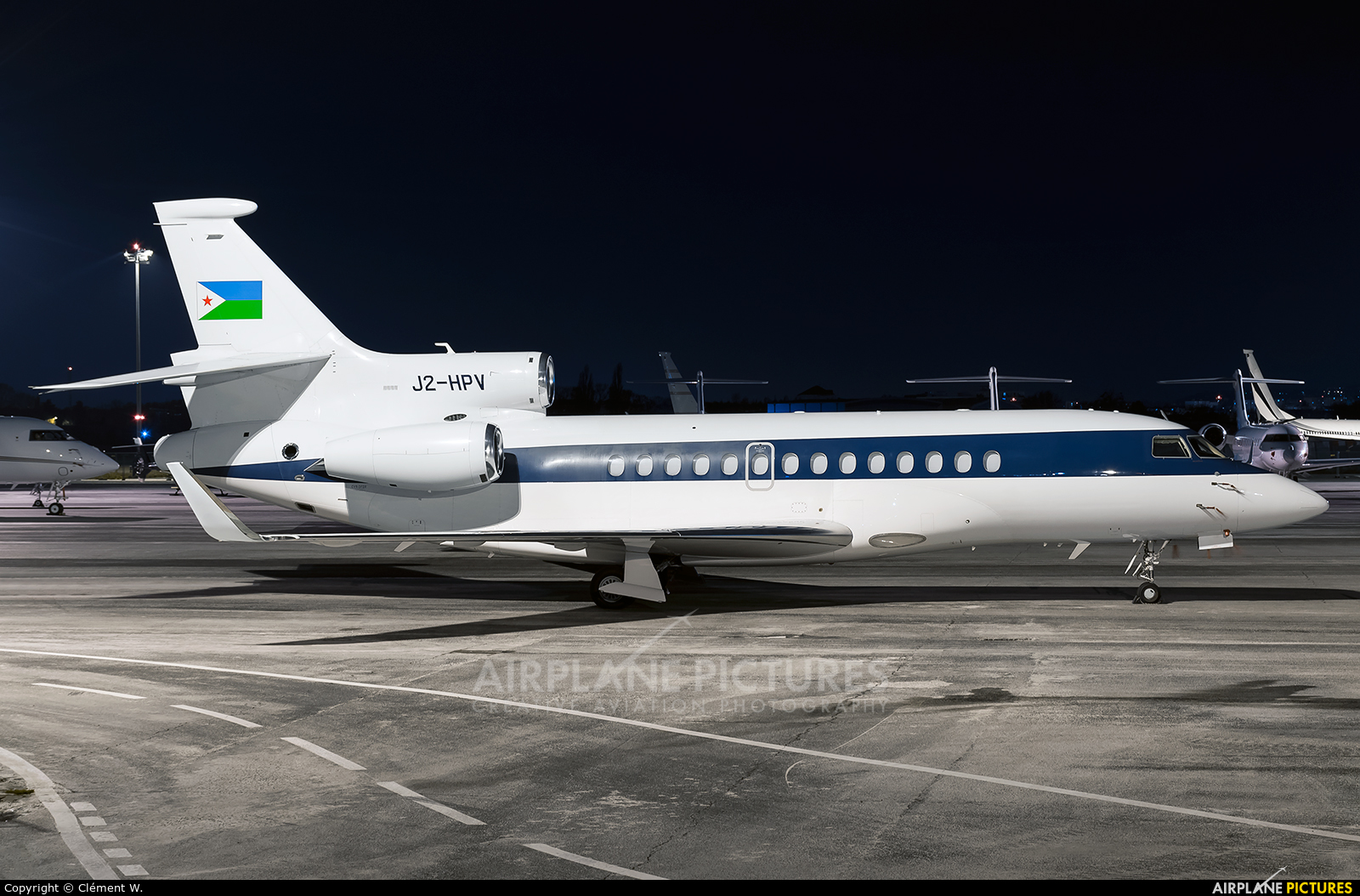 Djibouti - Government J2-HPV aircraft at Paris - Le Bourget