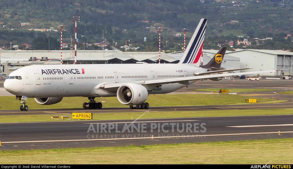 Air France F-GZNK aircraft at San Jose - Juan Santamaría Intl
