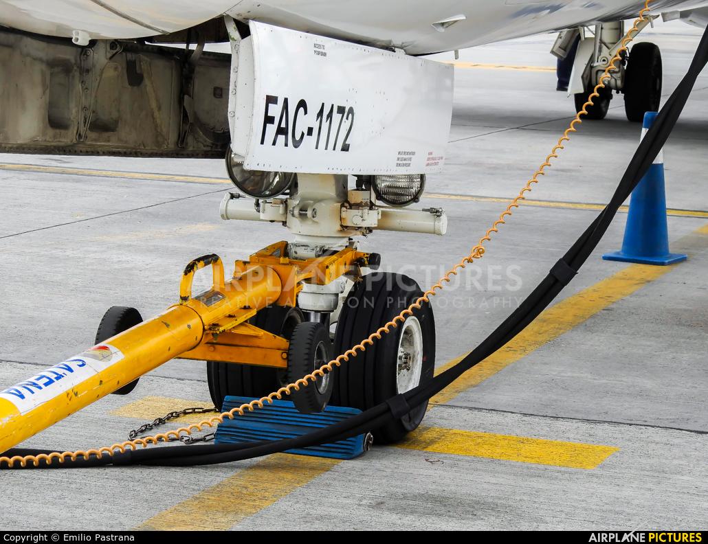 Satena HK-4525 aircraft at Bogotá - Eldorado Intl