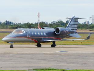 LV-CPL - Baires Fly Learjet 60