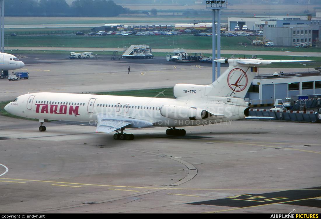 Tarom YR-TPG aircraft at Paris - Orly