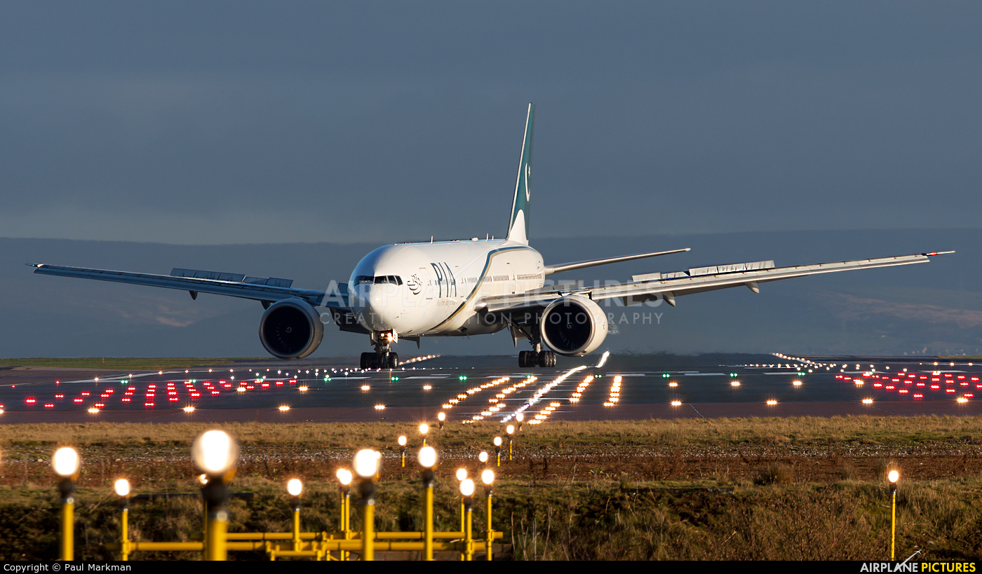PIA - Pakistan International Airlines AP-BGZ aircraft at Manchester