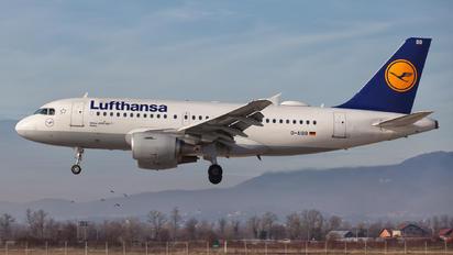 D-AIBB - Lufthansa Airbus A319