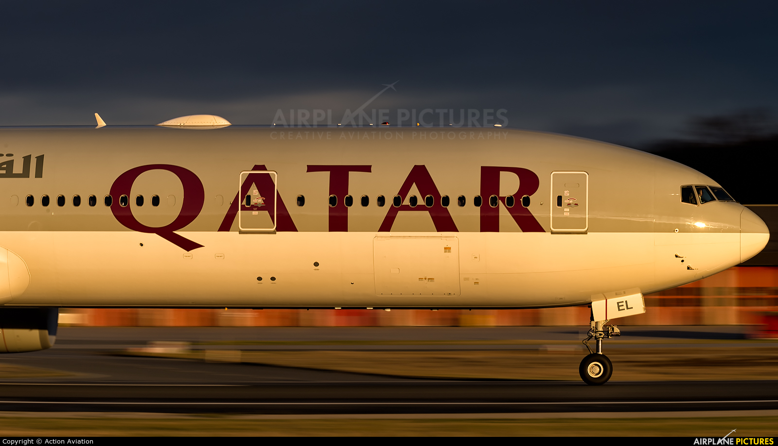 Qatar Airways A7-BEL aircraft at Frankfurt