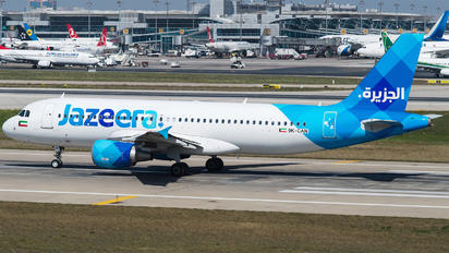 9K-CAN - Jazeera Airways Airbus A320