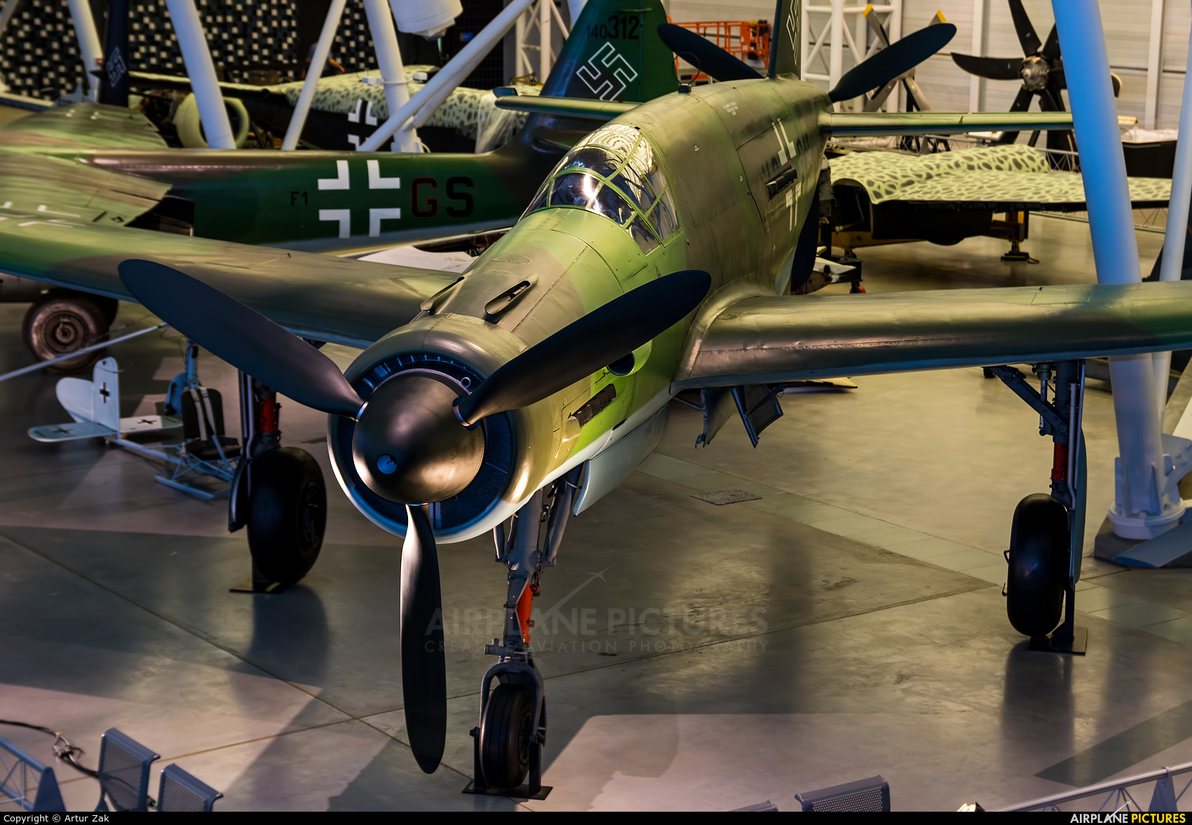 Germany - Luftwaffe (WW2) - aircraft at Steven F. Udvar-Hazy Center