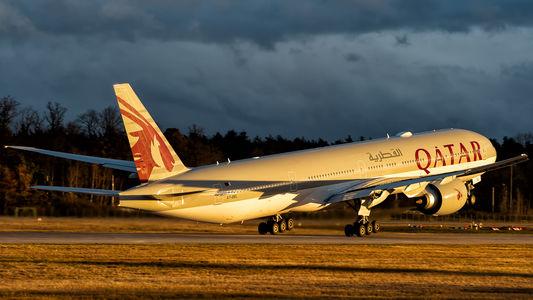 #1 Qatar Airways Boeing 777-300ER A7-BEL taken by Piotr Knurowski