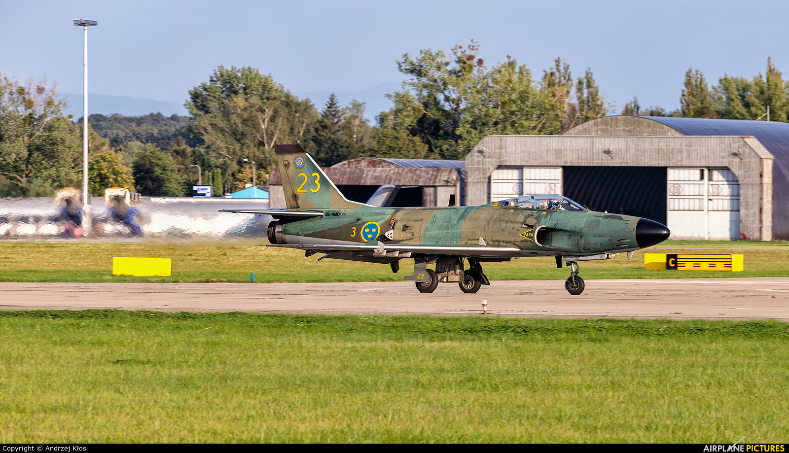Swedish Air Force Historic Flight SE-RMD aircraft at Ostrava Mošnov