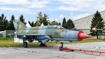 110 - Croatia - Air Force Mikoyan-Gurevich MiG-21bis
