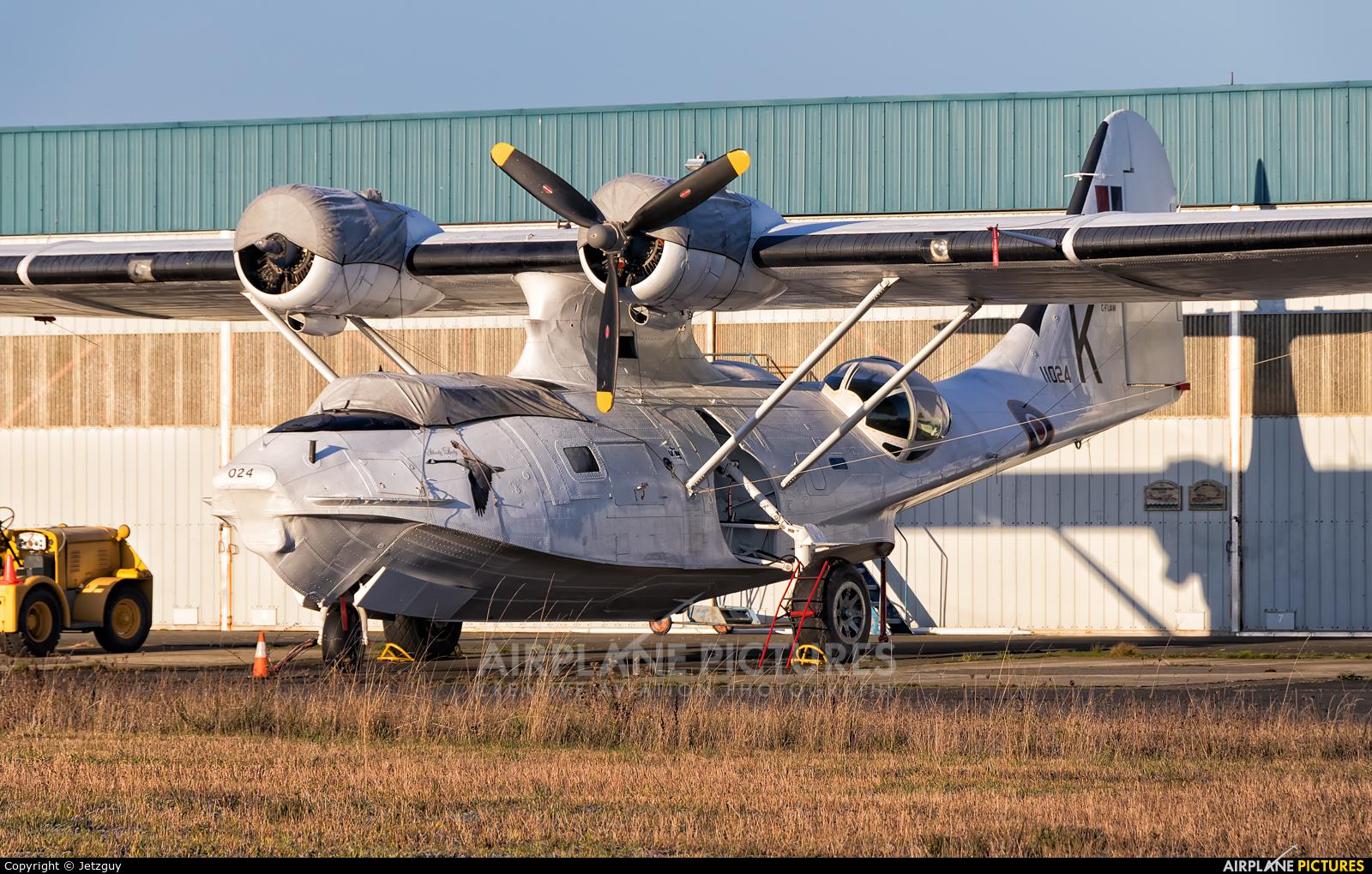 Private C-FUAW aircraft at Victoria, BC