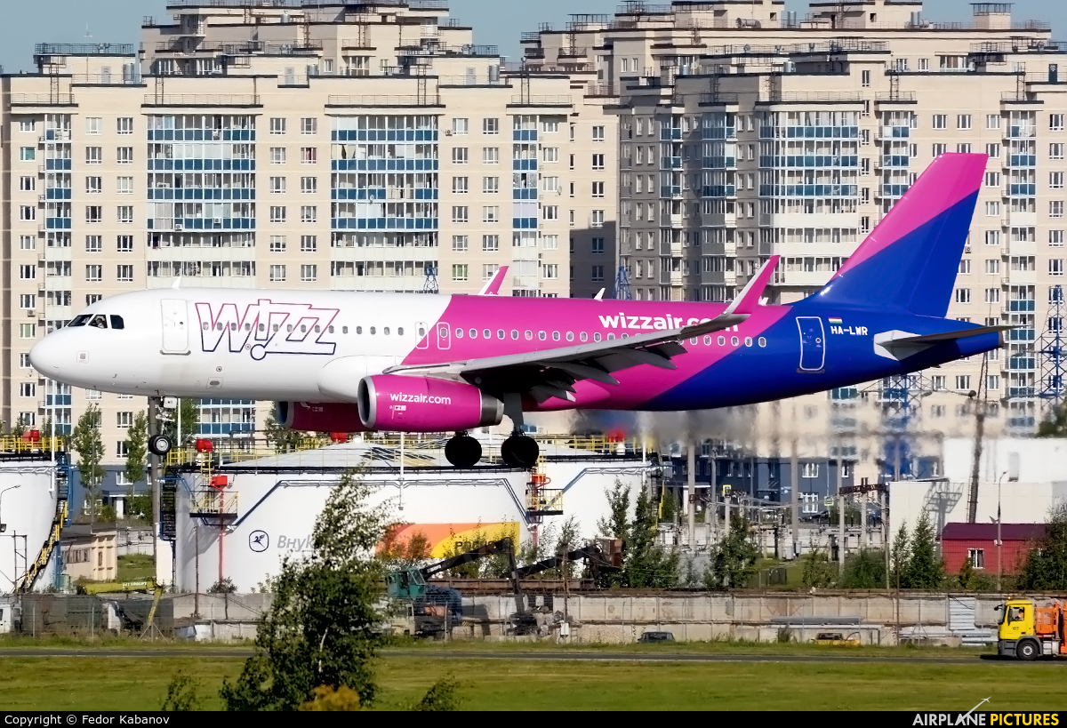 Wizz Air HA-LWR aircraft at Moscow - Vnukovo