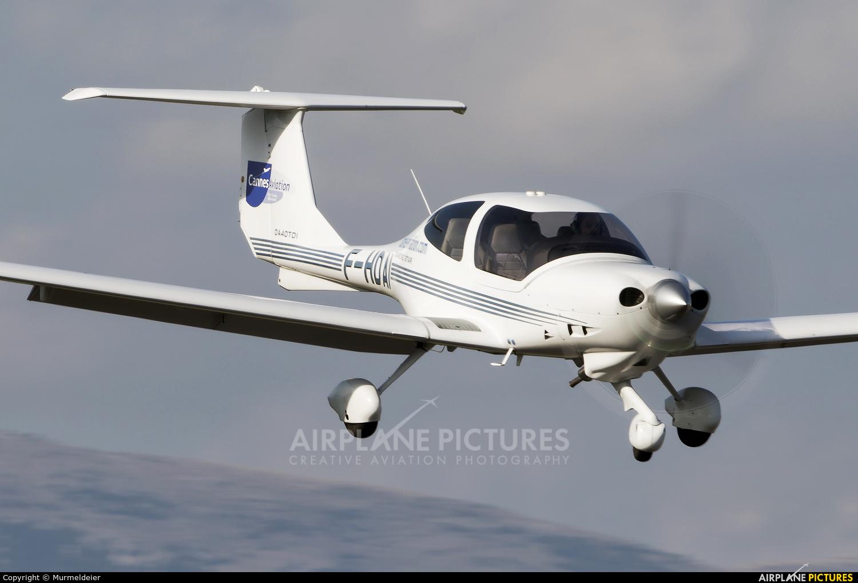 Private F-HOAI aircraft at Cannes - Mandelieu