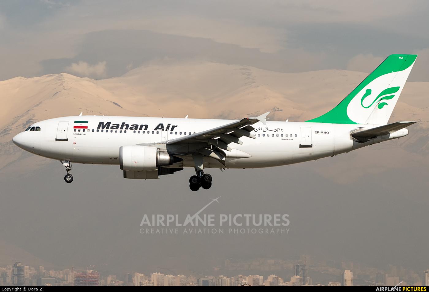 Mahan Air EP-MHO aircraft at Tehran - Mehrabad Intl