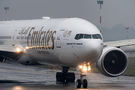 Emirates Airlines Boeing 777-300ER A6-ECY at Warsaw - Frederic Chopin airport