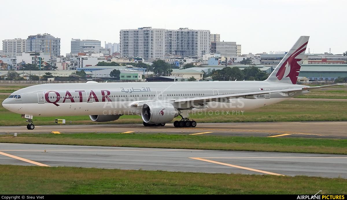Qatar Airways A7-BAE aircraft at Ho Chi Minh City - Tan Son Nhat Intl